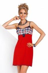 Koszula Nocna Model Salsa Red
