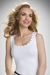 Koszulka Model Kasandra Ecru