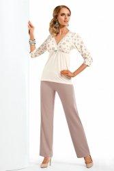 Piżama Damska Model Fabia Cream