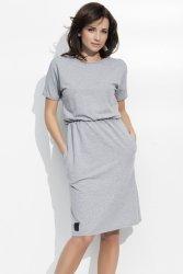 Sukienka Model NU47 Grey Melange