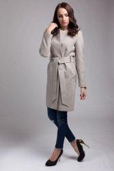 Płaszcz damski PLA026 beige