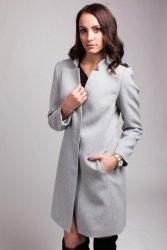 Płaszcz damski PLA029 gray