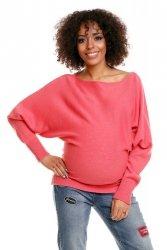 Sweter ciążowy 70003C Koral