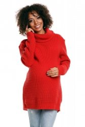 Sweter model 30044C Neon Coral