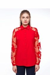 Elegancka damska bluzka GR1919 Red