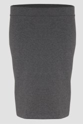 Spódnica dresowa S-030 Gray Melange