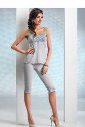 Piżama Damska Model Michelle 3/4 Grey