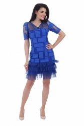 Sukienka wizytowa model 884b blue