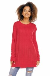 Sweter model 70007 Neon Coral