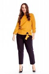 Bluzka damska 40-52 BETI żółta