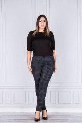 Spodnie damskie PARI 40-50 krata