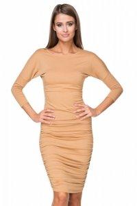 Sukienka Model T217/1 Piaskowy