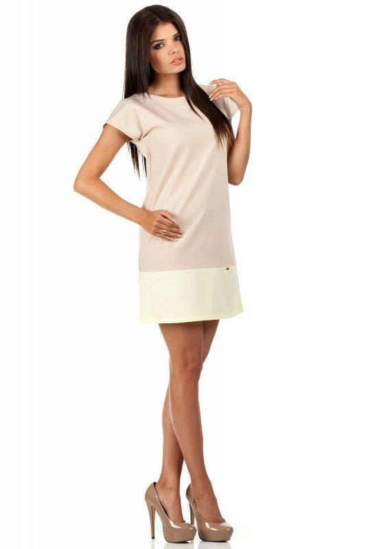 Sukienka Model MOE100 Beige