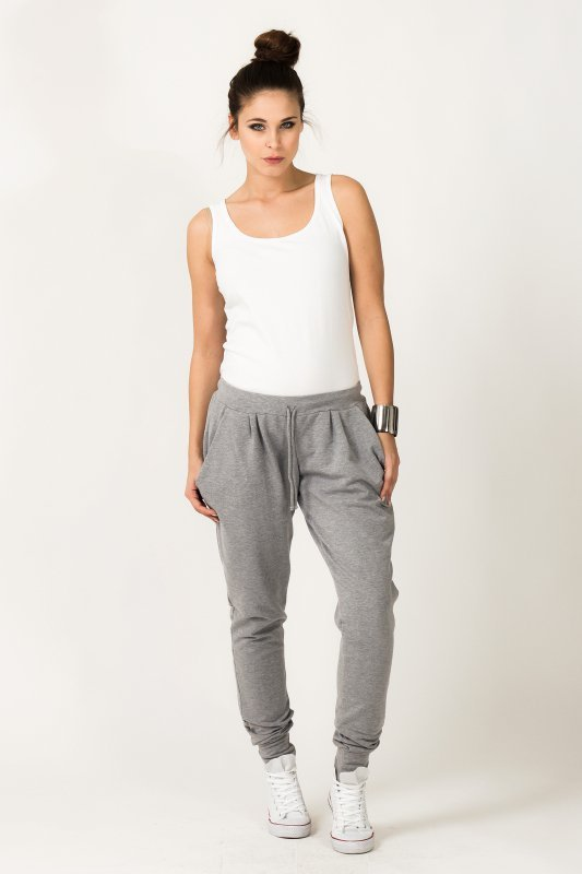 Spodnie Damskie Model Alina 2 Light Grey