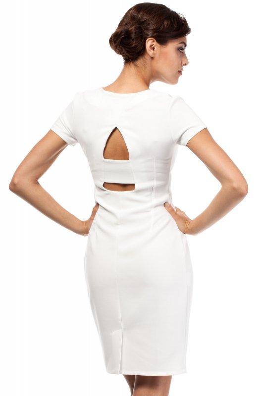 Sukienka Model MOE186 Ecru