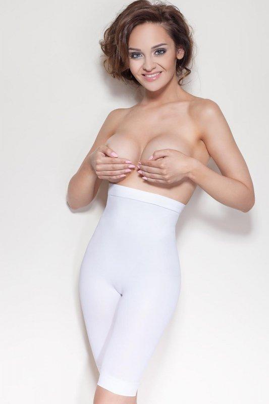 Spodenki damskie XL-XXL wyszczuplające ELITE VIS White