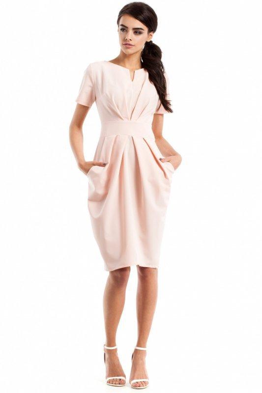 Sukienka Model MOE234 Powder Pink
