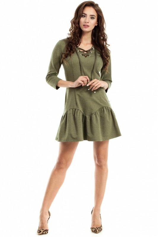 Sukienka Model MOE244 Khaki