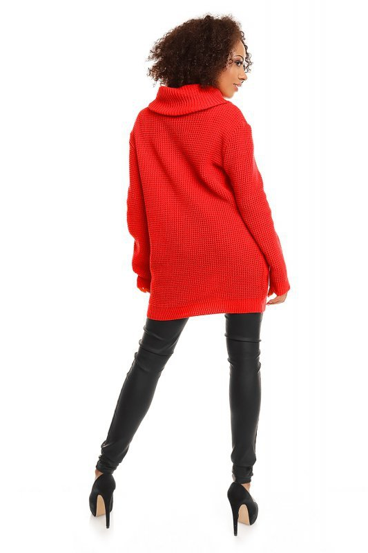 Sweter model 30044 Neon Coral
