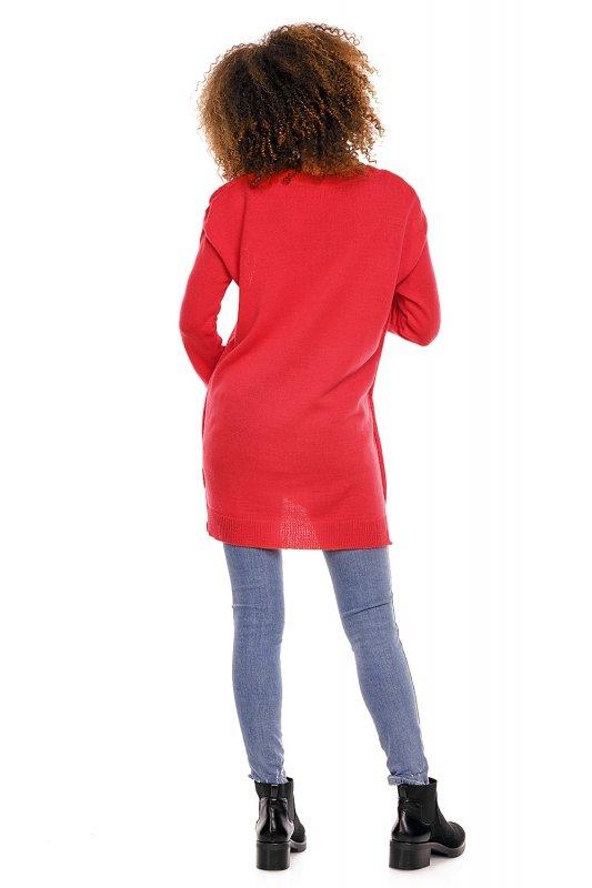 Sweter model 70007C Neon Coral