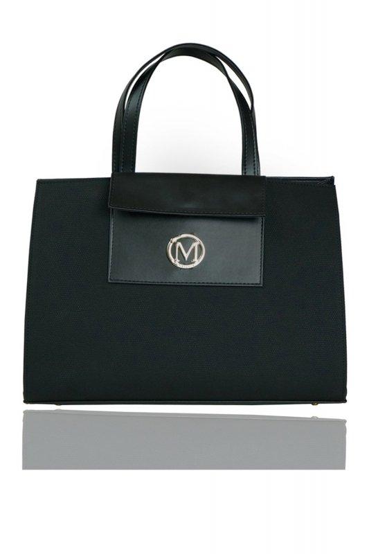 Duża torba miejski styl XXL 813A Black