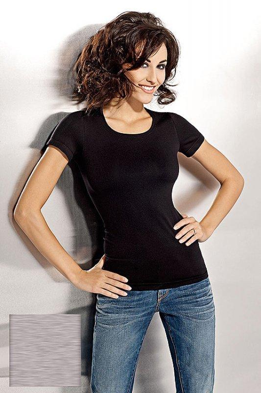 Tshirt Damski L-XXL plus size GREY krótki rękaw