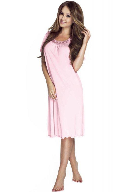 Koszula-damska-Nocna-Model-4112-Pink