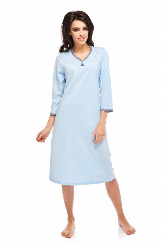 Koszula Nocna Model Pamela 236 Sky Blue
