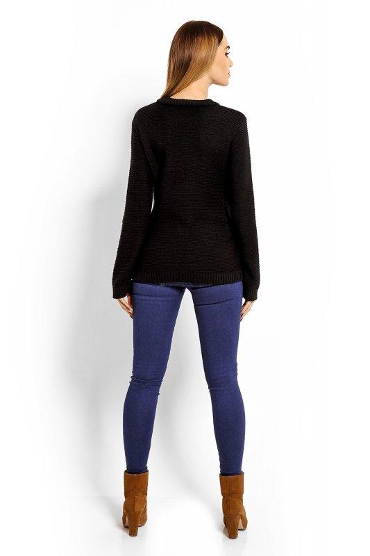 Sweter Ciążowy Model 40001C Black