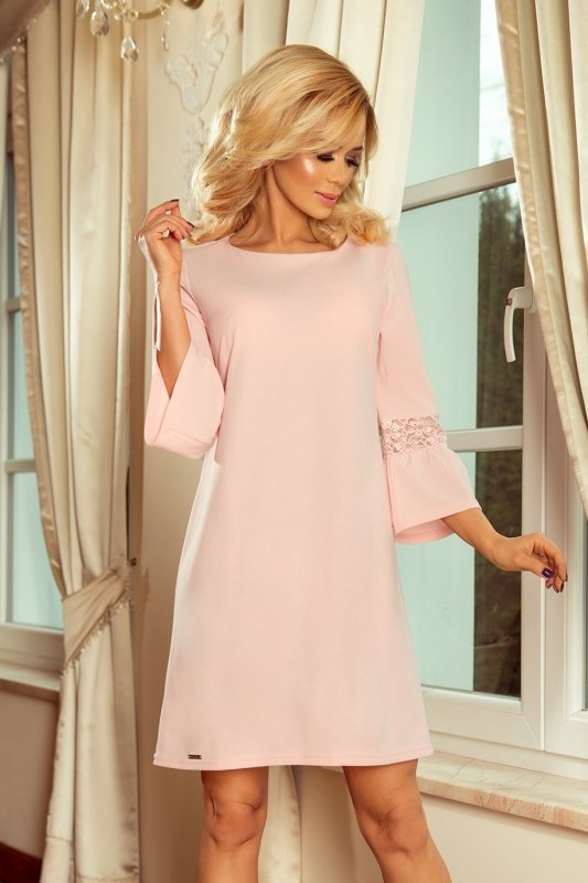 Elegancka-sukienka-S-XL-Model-Margaret-190-1-Pastel-Pink-na-wesele-chrzest
