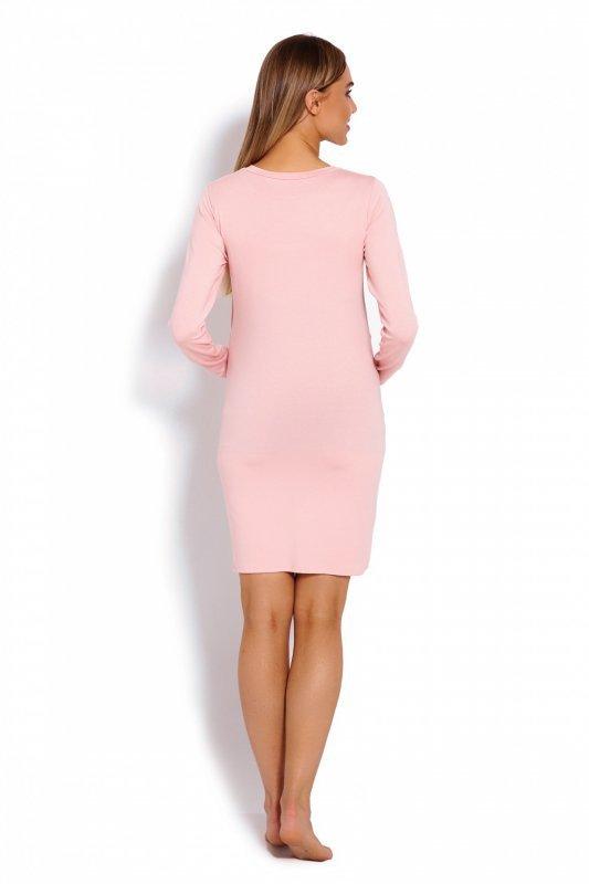 e1c56409ba Koszula Nocna Ciążowa Model 1682 Powder Pink - Odzież ciążowa ...