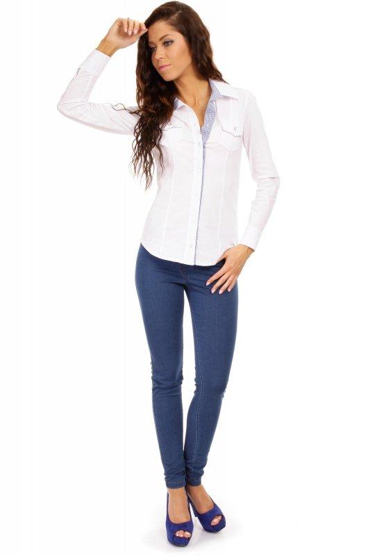 Koszula MOE021 White