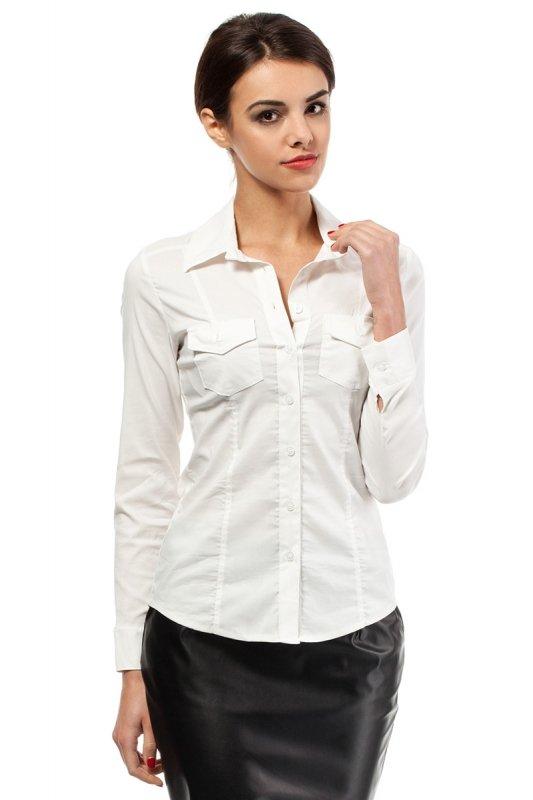 Koszula MOE020 Ecru