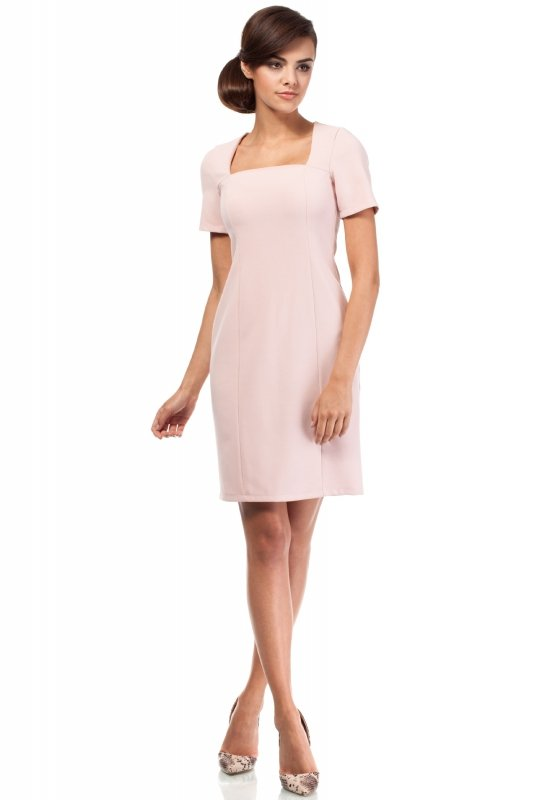 Sukienka Model MOE192 Powder Pink