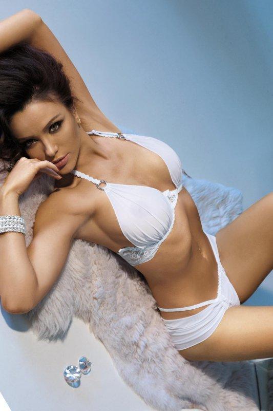 Komplet damski erotyczny PLUS SIZE M-XXXL AFESIE WHITE duże rozmiary