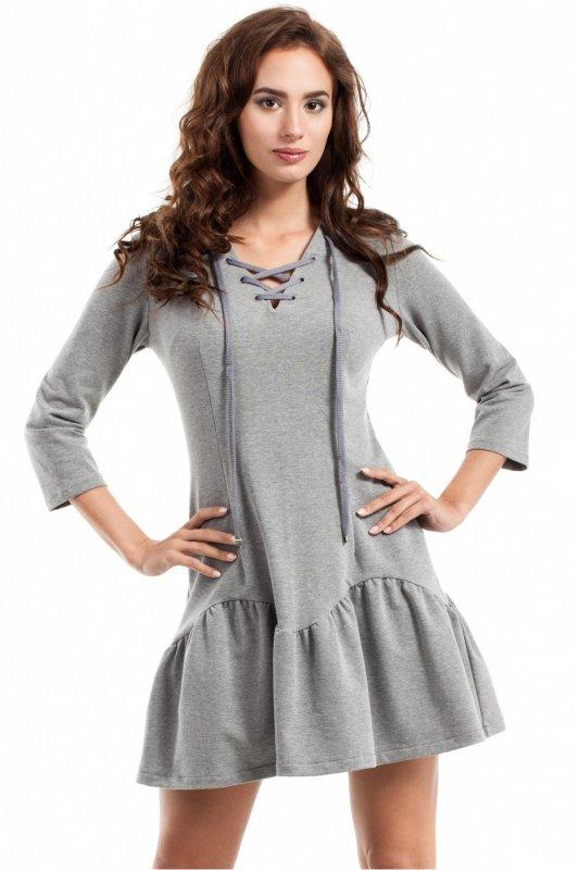 Sukienka Model MOE244 Grey