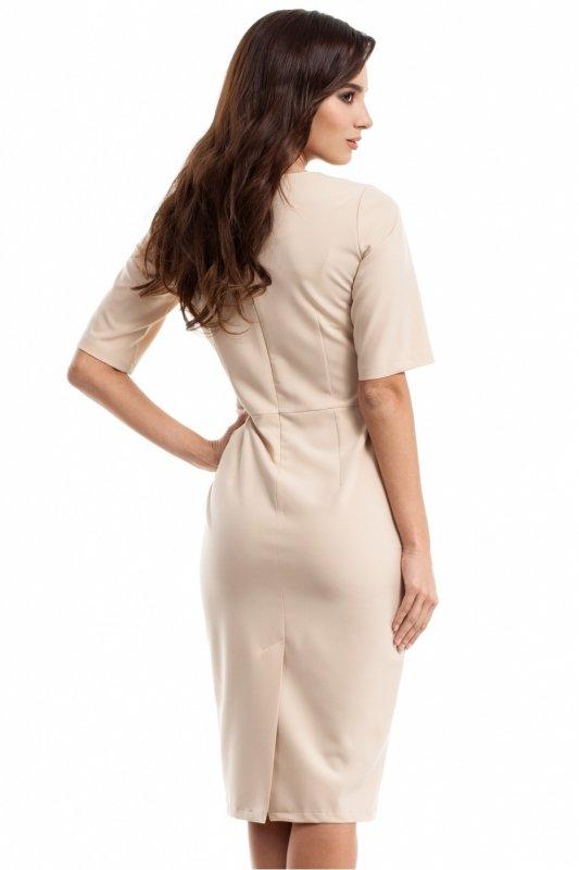 Sukienka Model MOE276 Beige
