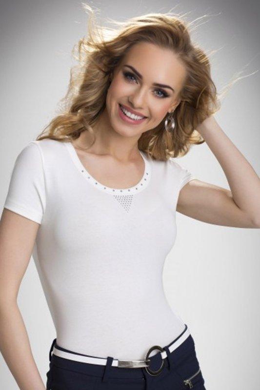 Bluzka Model Greta Ecru