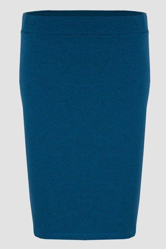 Spódnica dresowa S-030 Blue Melange