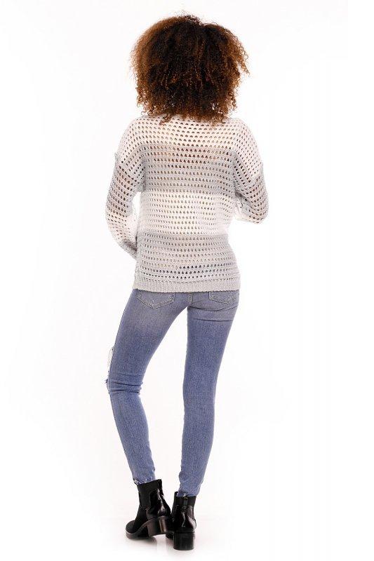 Sweter model 70002C Gray