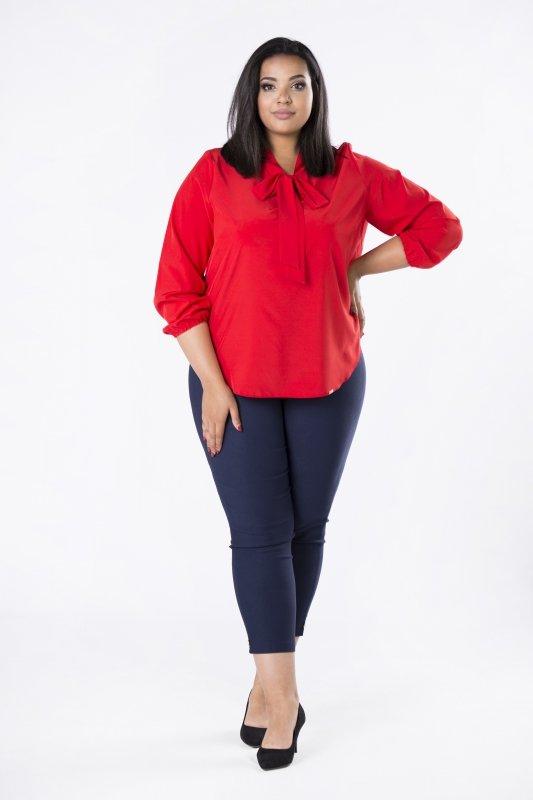 Elegancka-bluzka-damska-plus-size-dla-puszystych-KALINA8-o-koszulowym-kroju-xl-xxl-czerwona-do-biura-tyl