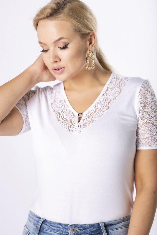 dzianinowa-bluzka-ARIA-damska-plus-size-xl-xxl-dla-puszystych-z-koronkowymi-rekawami-aplikacja-na-biuscie