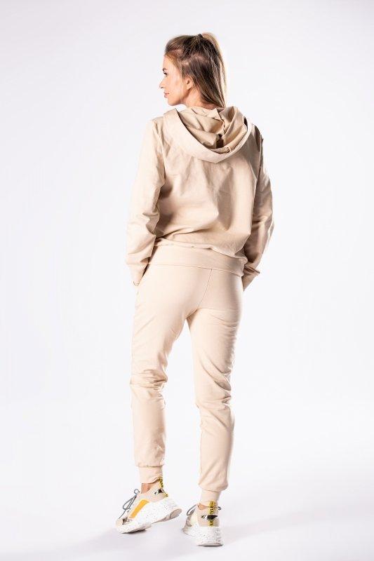 dresowy komplet bluza i spodnie