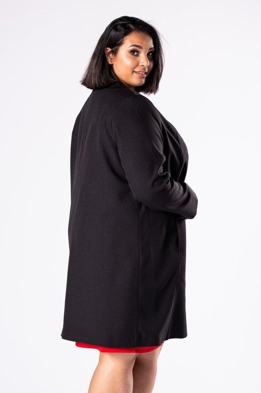Elegancki płaszcz pudełkowy MEFISTO