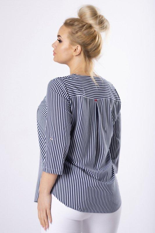 Bluzka w paski SAILOR koszulowa