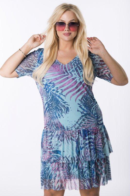 Trapezowa-sukienka-plus-size-WERONA-zwiewna-niebieska