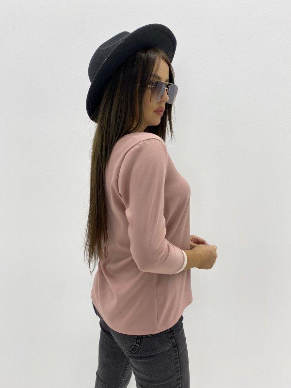 bluzka z trokami