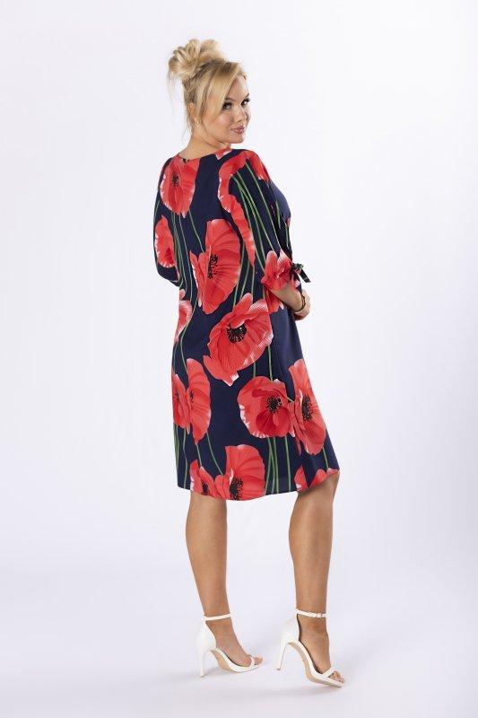 Sukienka ASTRAL z wiązaniami