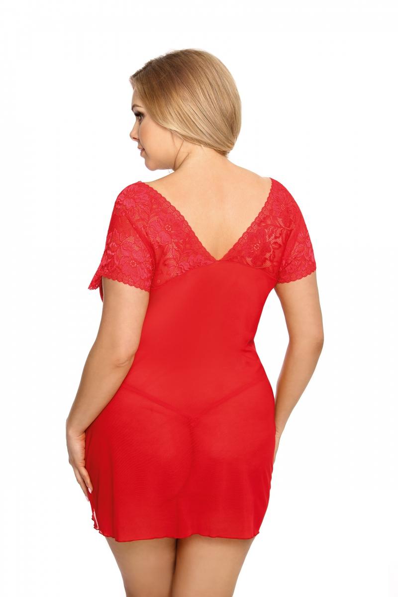 Koszulka-erotyczna-damska-plus-size-dla-puszystych-xl-xxl-SYDNEY-XL-6XL-czerwona-prezent-dla-kobiety-na-swieta-bozego-narodzenia-tyl