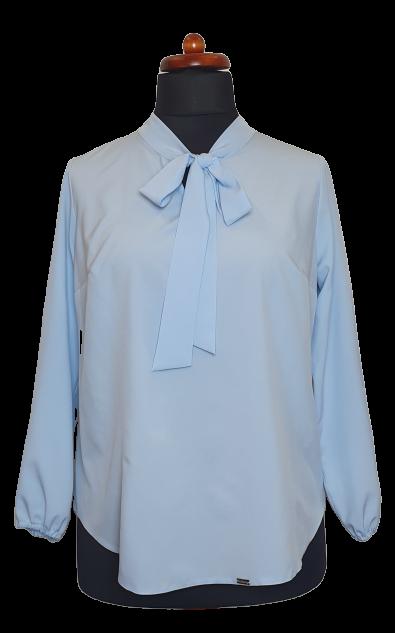 Elegancka-bluzka-damska-plus-size-dla-puszystych-KALINA3-o-koszulowym-kroju-xl-xxl-niebieska-blekitna-do-biura-chrzest-komunia-bierzmowanie